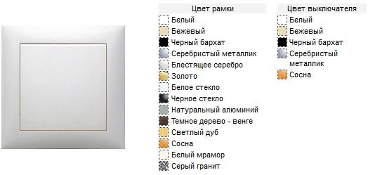 ( на фото выключатель + рамка!