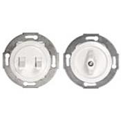 Механизмы выключателей и переключателей 16А 250В  серии Vintage (31)