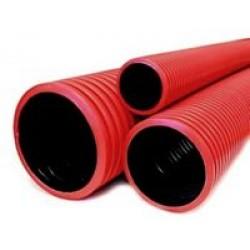 Трубы двустенные для подземной прокладки ПНД