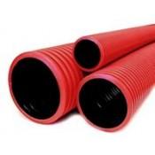 Трубы двустенные для подземной прокладки ПНД (8)