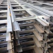 Лестничный лоток нержавеющая сталь (17)
