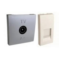 Серия LK 45 Телефонные (RJ12), телевизионные (ТV) и компьютерные (RJ45) розетки