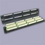 Патч-панели 19 дюймов кат.5Е на 12, 16, 24, 32, 48 портов (7)